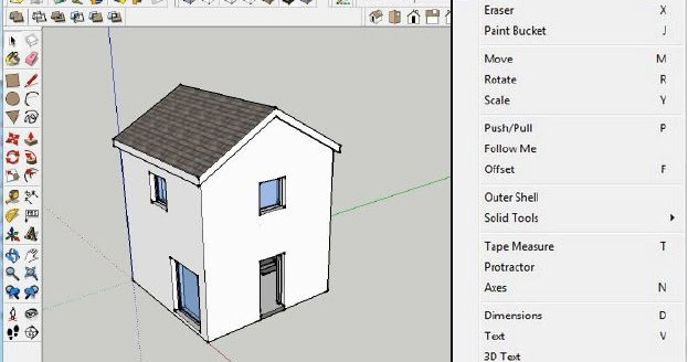Creating a plan of your SketchUp model in LayOut