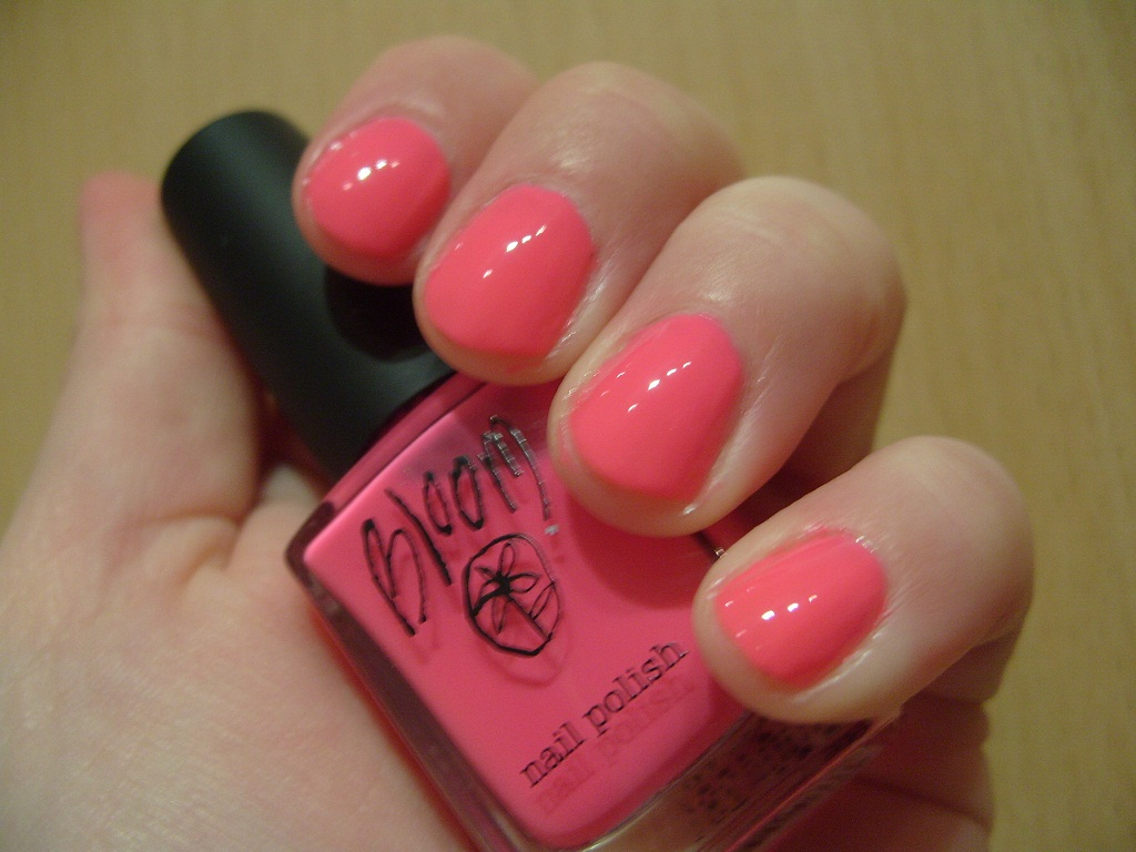 "Pretty Perfect Beauty: Pink October NOTD: Bloom ""Molly"""