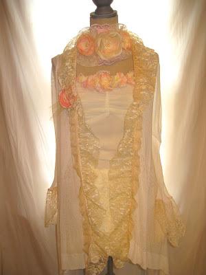 Women's Wedding Jacket Shabby Chic Romantic Clothing, Bridal Jacket Wrap XS Size