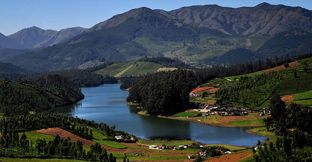 Lake in Ooty, India