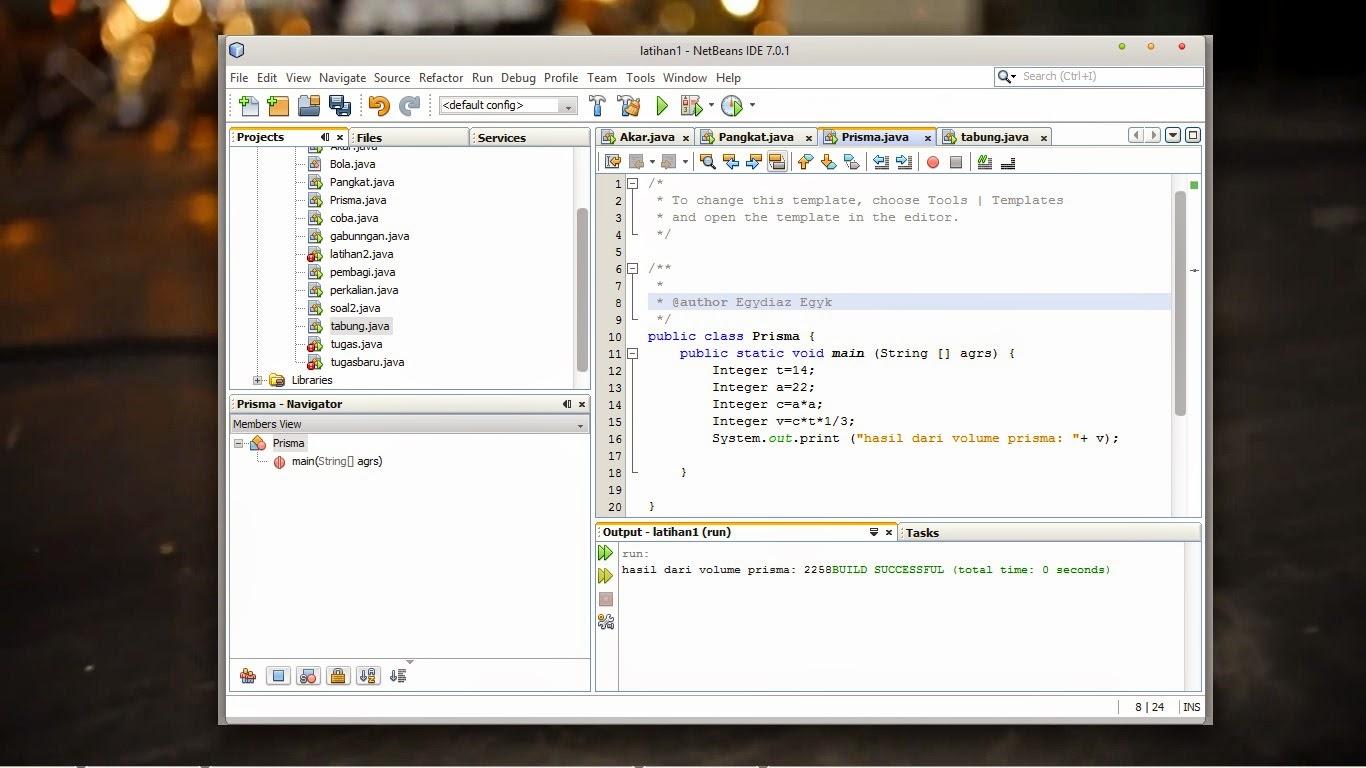 Laporan Project Java Tugas Pak Prayudi Welcome My Bitch Blog