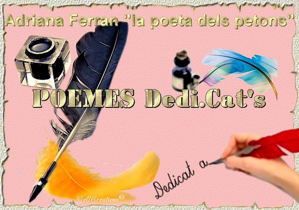 Poemes Dedi.Cat's per Adriana Ferran