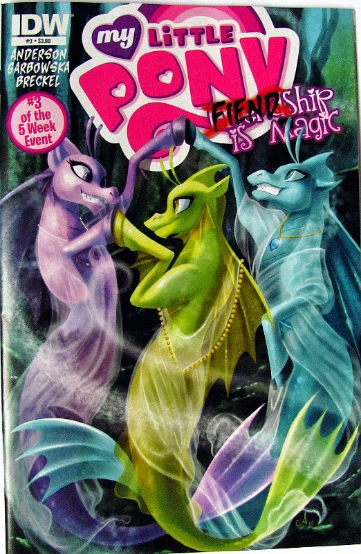 Sirens Fiendship is Magic comic front cover