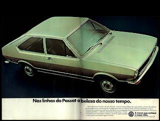 propaganda Passat - 1977