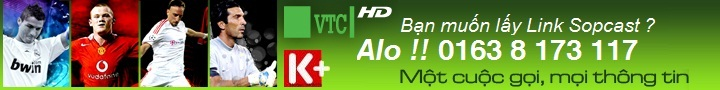 Link Sopcast bng  online,ly link sopcast k+,link sopcast vtc 3 hd,xem sopcast