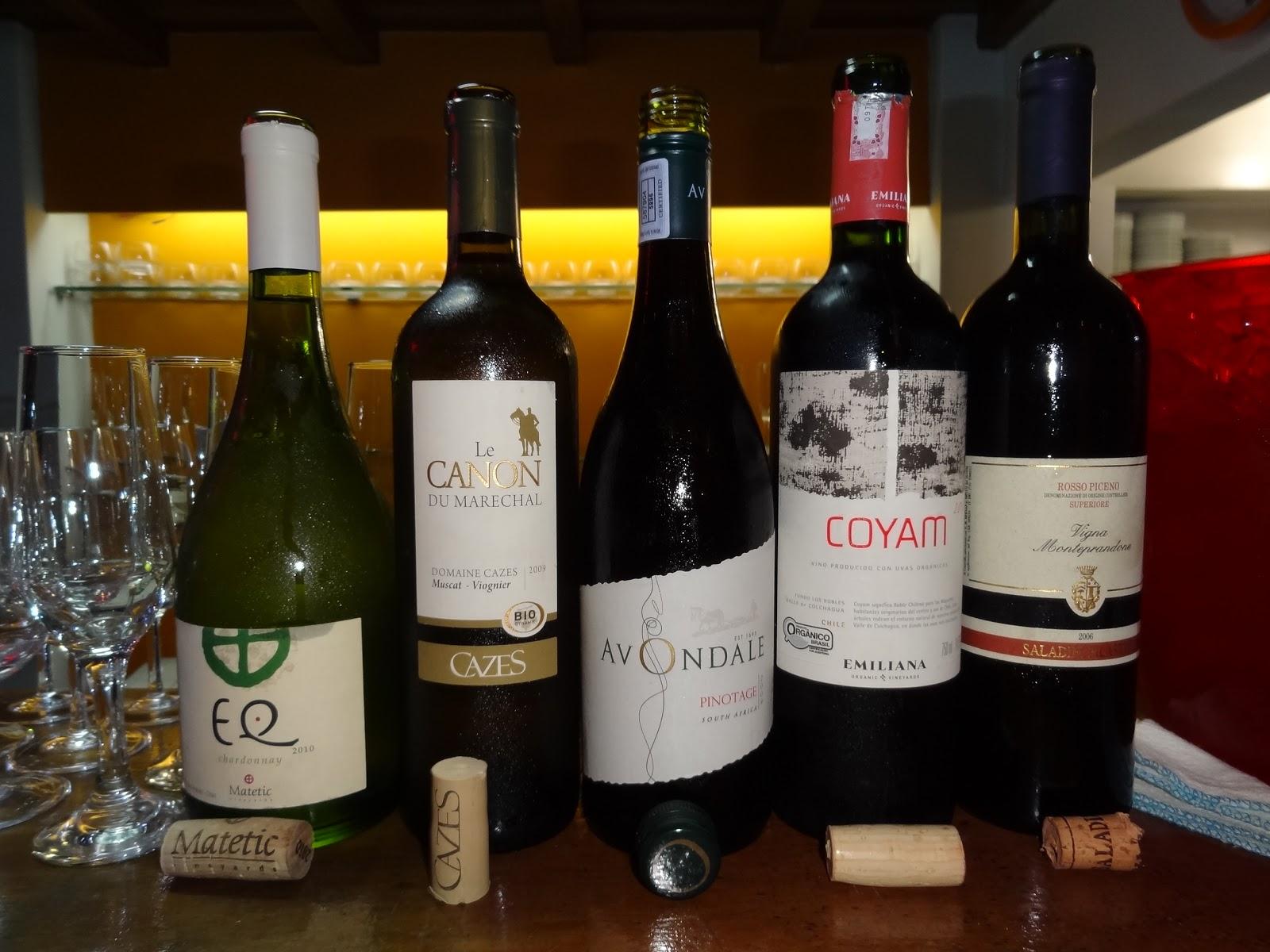 Vinhos Orgânicos e biodinâmicos