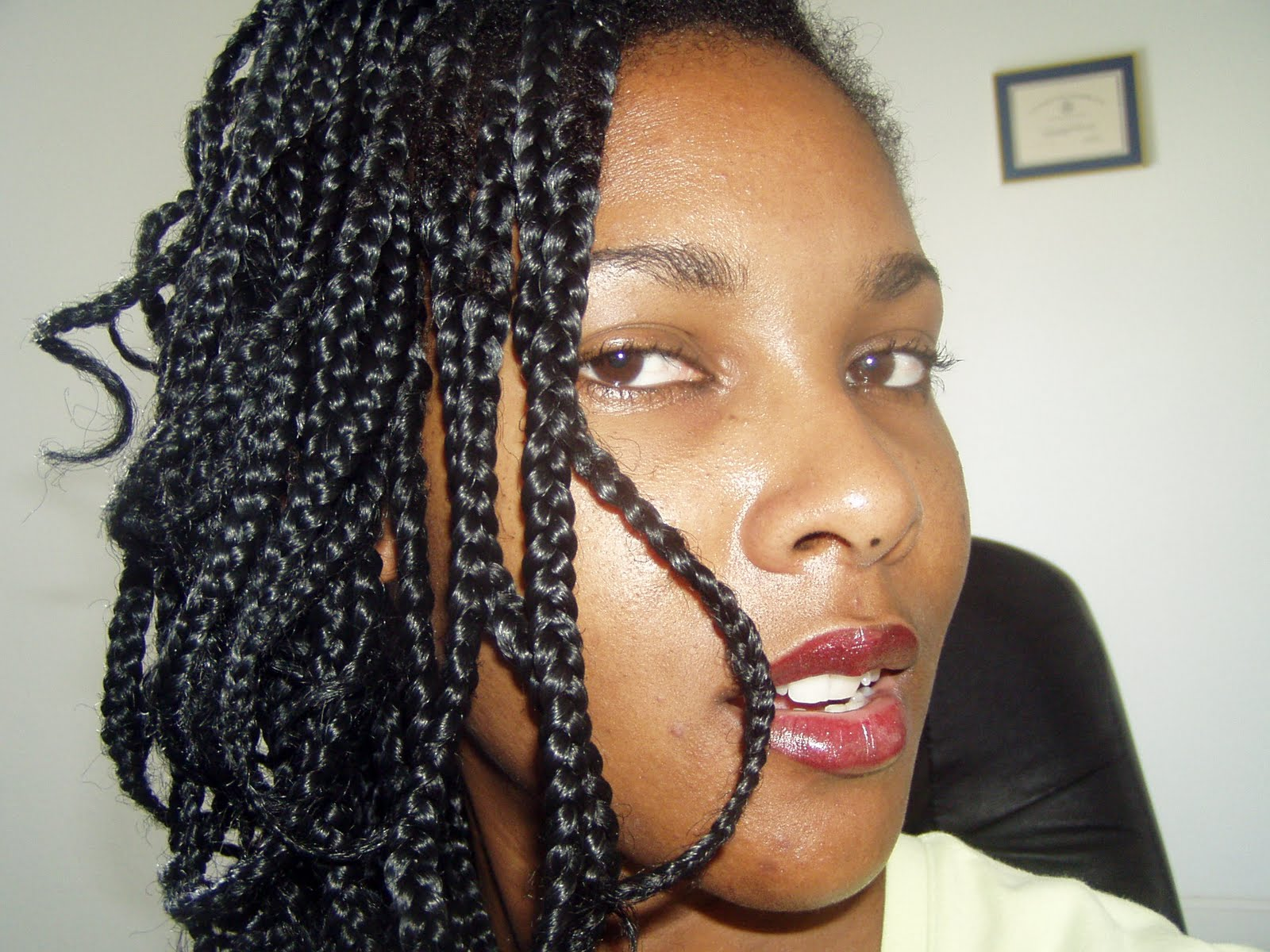 related big twist braids big braids with weave big french braids ...