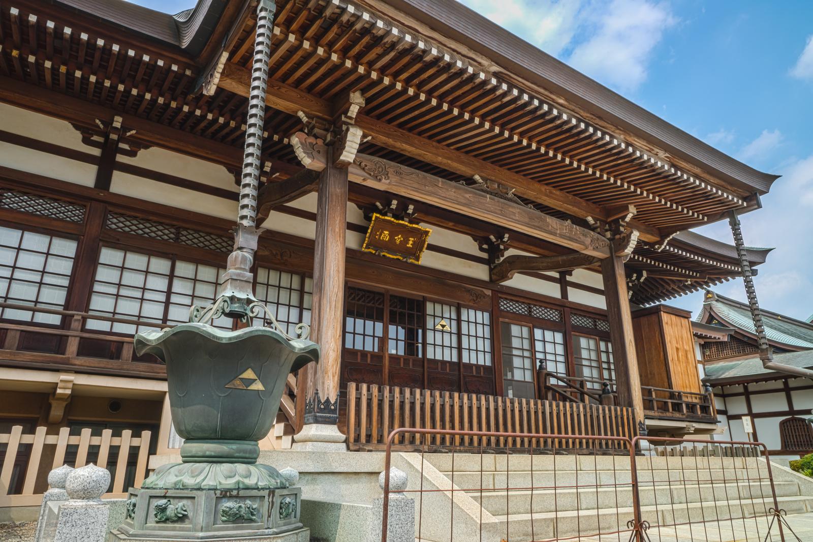 東村山市にある正福寺本堂の写真