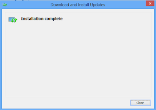 Windows 8 download Language Completed