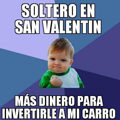 Niño celebrando San Valentin