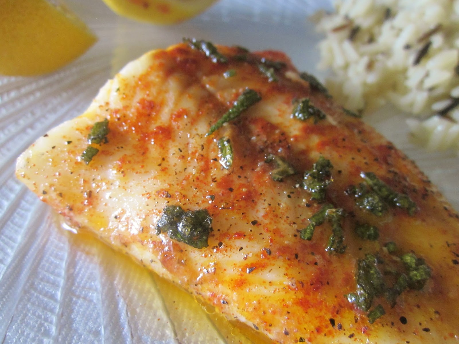 Dimples delights butter baked cod for Baking cod fish