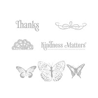 Stampin'UP! stamp set: Kindness Matters