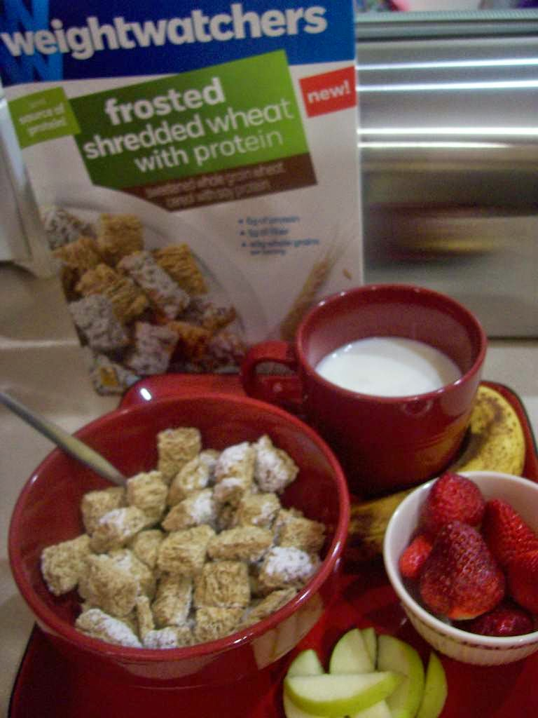 Weight Watchers Chocolate Frosted Shredded Wheat Cereal