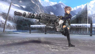 God Eater 2 Gun Weapons