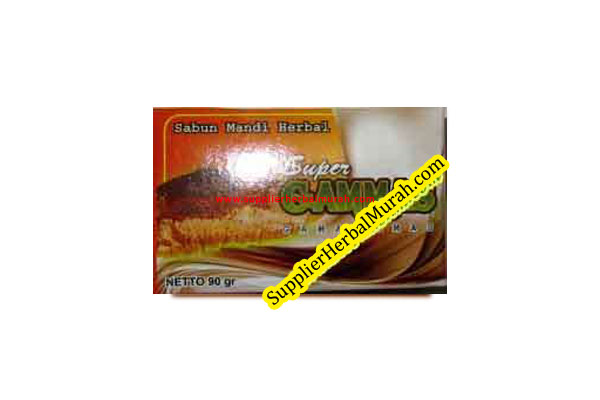 Sabun Mandi Herbal Super GAMMAS (Gamat Emas)