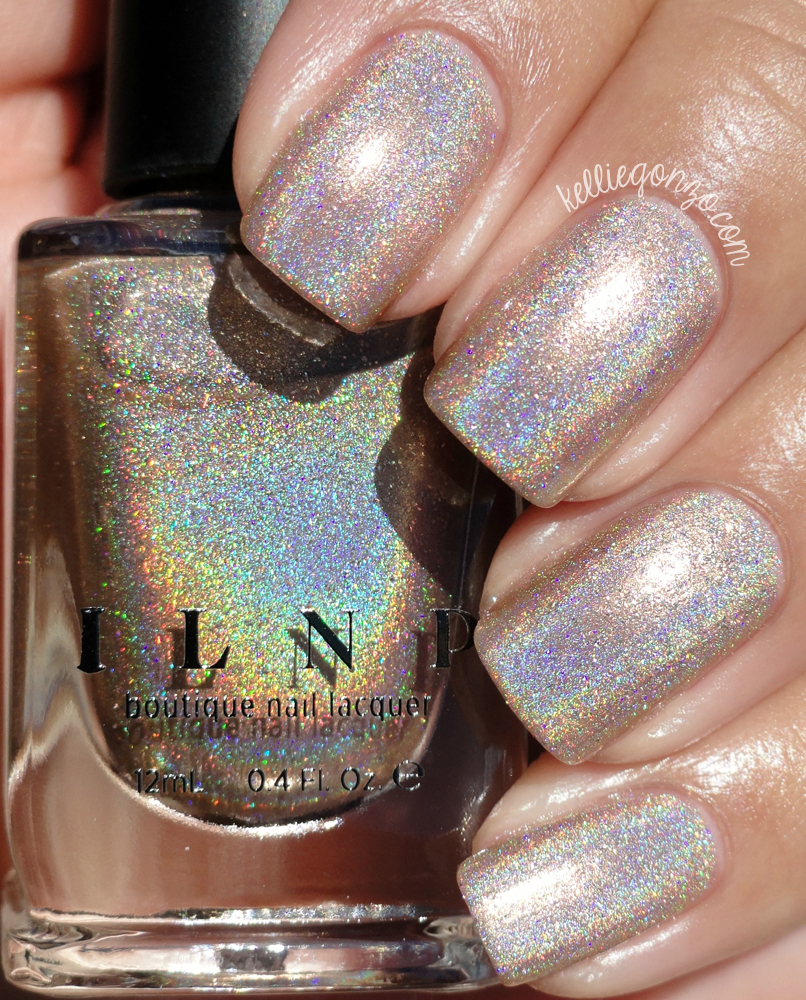 KellieGonzo: ILNP Summer 2015 Ultra Holos Collection Swatches & Review