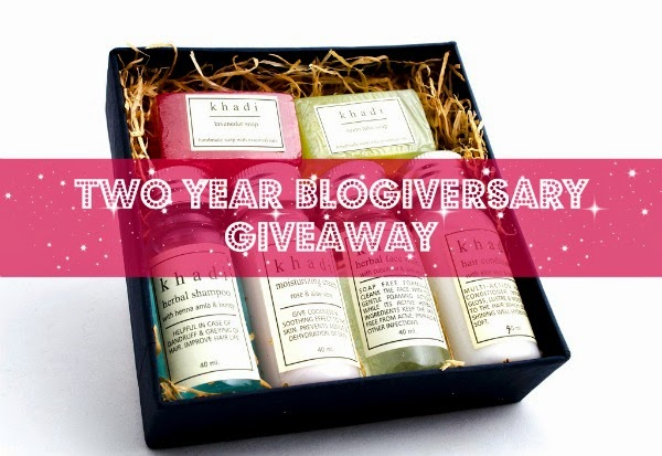 Enter Two Year Blogiversary Giveaway!