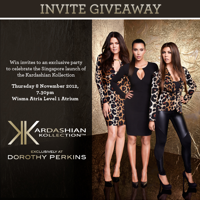 Ganda win invites to kardashian kollection launch winners will be able to check out the whole collection before everyone else in the country and the invite will valid for two persons so the winner will be stopboris Gallery