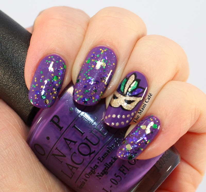The Mani Café: Mardi Gras - Red Dog Designs ♪♫♪ (Here Comes)3 the ...