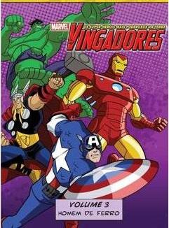 Assistir Os Vingadores - Homem de Ferro - Volume 3 Temporada Dublado e Legendado