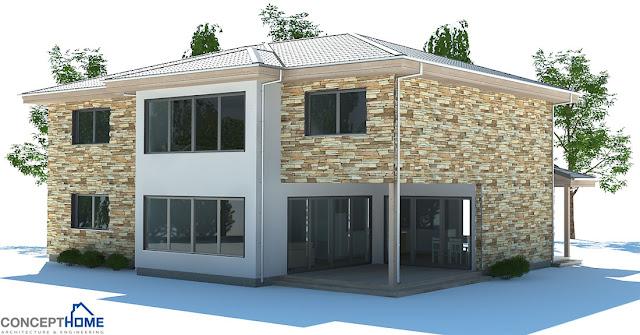 contemporary house plans modern contemporary home plan ch180