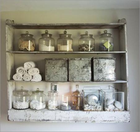 Ekster antiques photos of our home farm for Bathroom decor for shelves