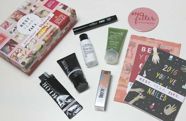 A January 2016 Birchbox UK review
