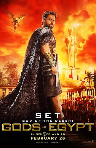 ตัวอย่างหนังใหม่ : Gods of Egypt (สงครามเทวดา) ซับไทย poster4