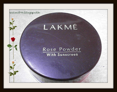 Lakme Rose Powder with sunscreen Review and swatch