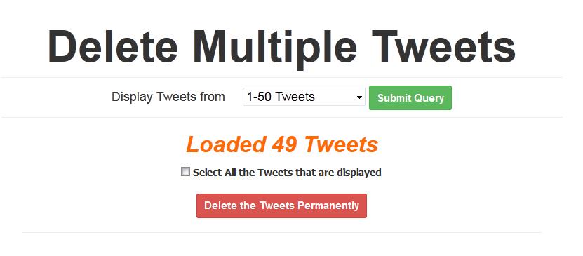 Cara Menghapus Seluruh Tweet dengan Cepat