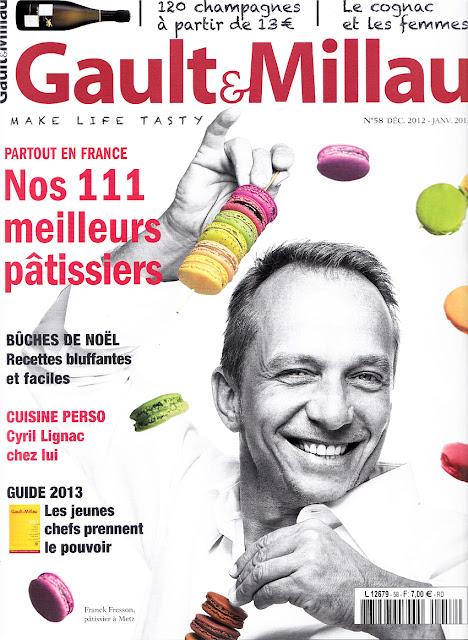 Gault & Millau magazine n°58 - les 111 meilleurs pâtissiers