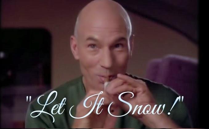 Picard Make it so Let it Snow Picard Sings Let it Snow