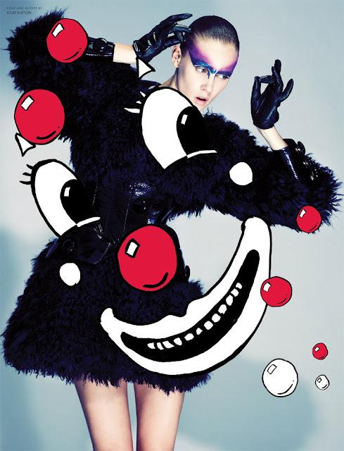 Marike Le Roux - 10 Magazine, Fall 2012
