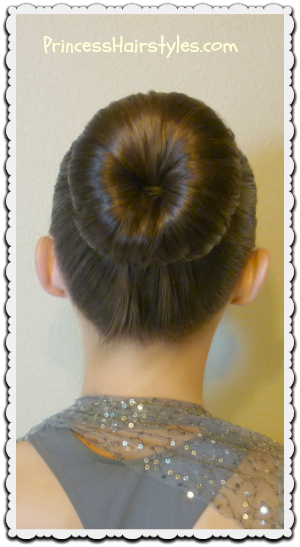 Fantastic The Perfect Dance Bun And No Heat Curls Tutorial Hairstyles For Hairstyle Inspiration Daily Dogsangcom