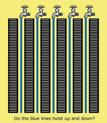 Tap Water Optical Illusion