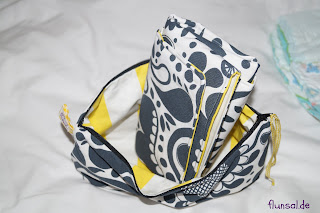 diaper bag with wound pad yellow by flunsal.de