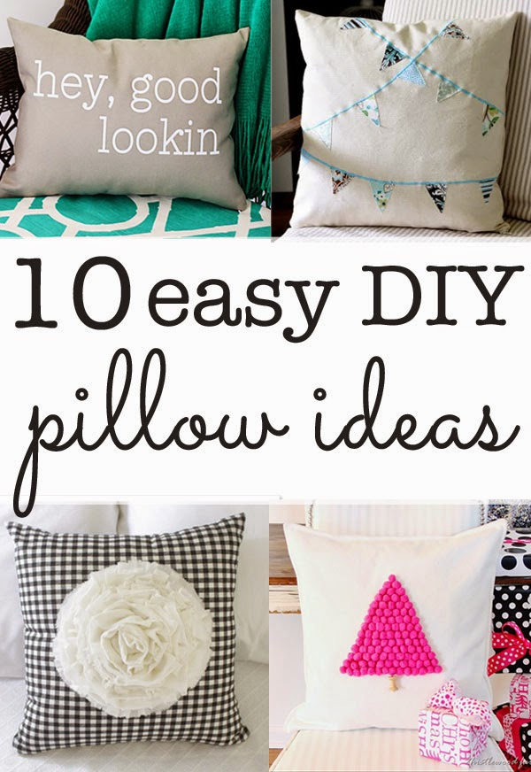 pillow embellishment ideas