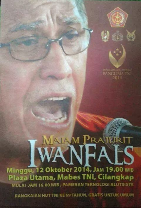 Konser Malam Prajurit Iwan Fals