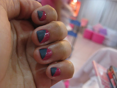 colorful nail art design for short nails  everything