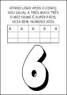 Atividades Numerais - Atividades com Números - Educação Infantil 6
