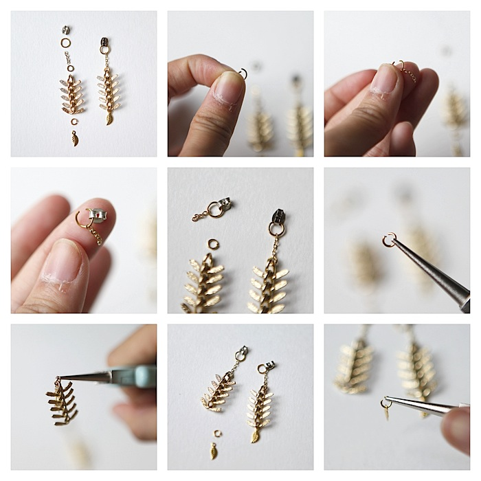 hello whimsy tutorial sided earrings