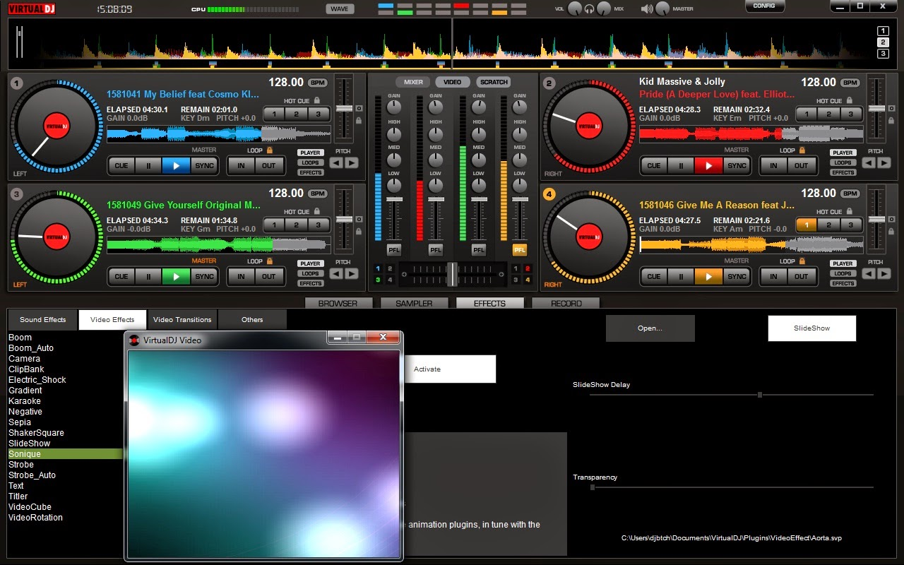 Virtual DJ v7 0 PRO full version download