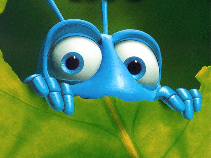 علماء: الحشرات تموت من الخوف BugsLifeWallpaper800