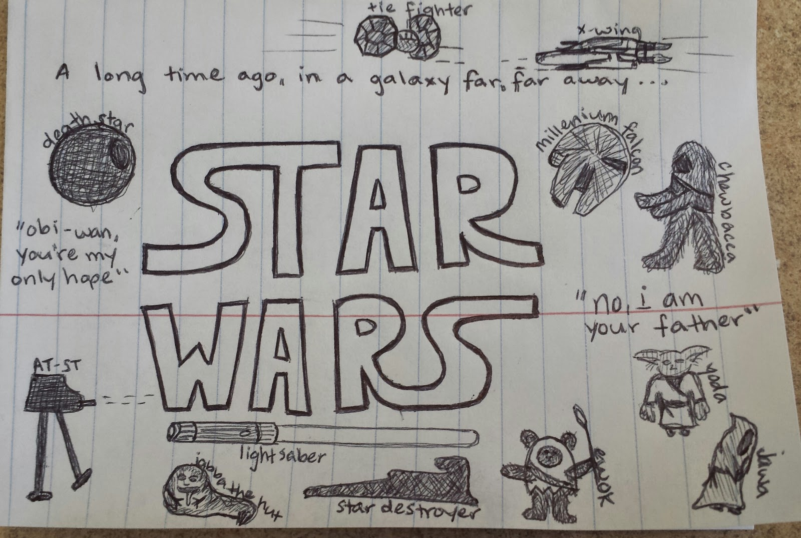 star wars as requested by the lawyer