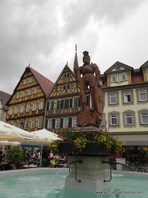 Praça em Bad Mergentheim