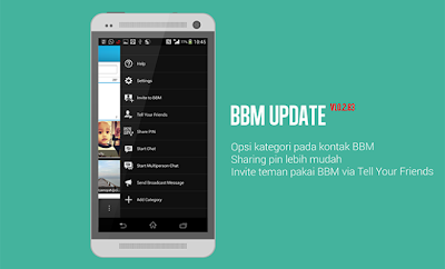 update balckberry messenger for android terbaru