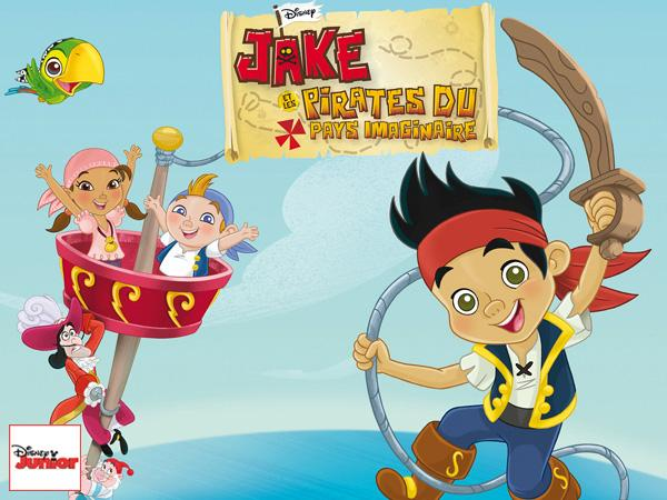 Tea with mrs nesbitt jake et les pirates du pays imaginaire - Jake et les pirates ...