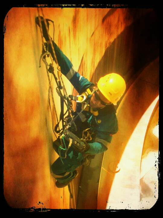 Rope Access Indonesia Non Destrtructive Testing Ndt