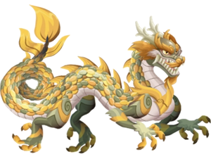 imagen del dragon marfil adulto