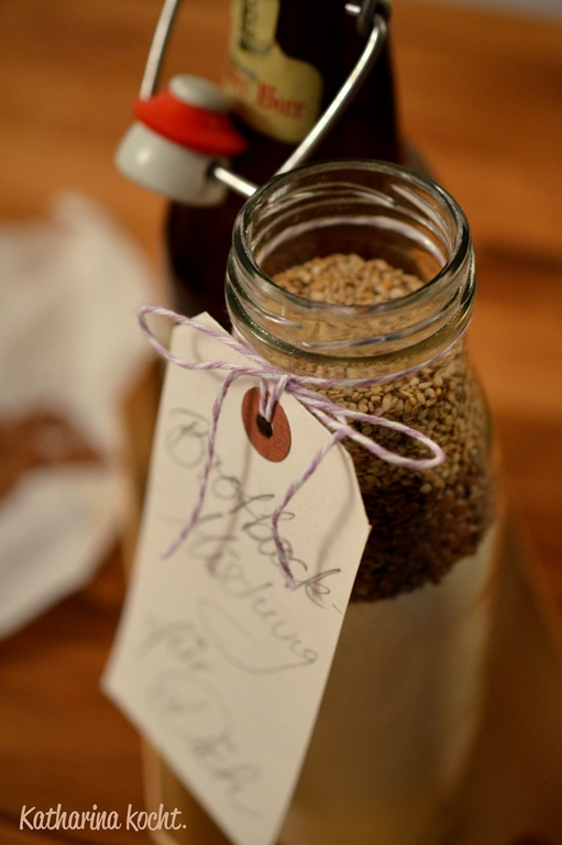 Brotbackmischung für Leinsamenbrot: Geschenke aus der Küche ...